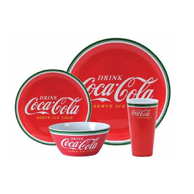 Coca Cola Classic Casual 16-piece Tableware Set