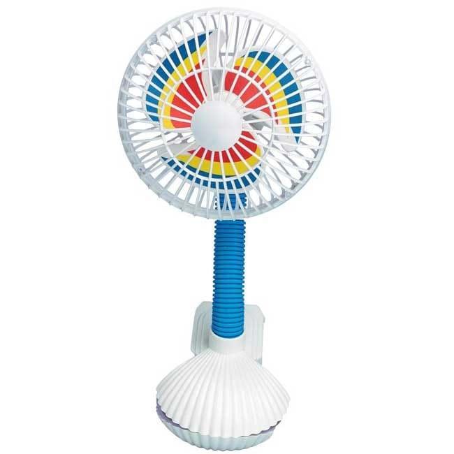 Kel-Gar Pinwheel Stroller Fan (Stroller Fan)