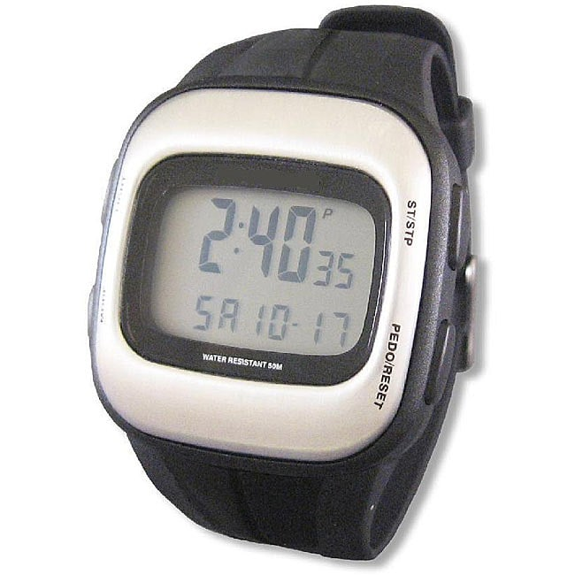 S-Pulse Step Counter and Heart Rate Monitor Watch