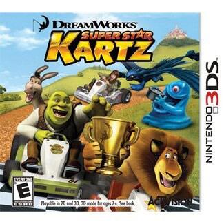 NinDS 3DS - Dreamworks Super Star Kartz