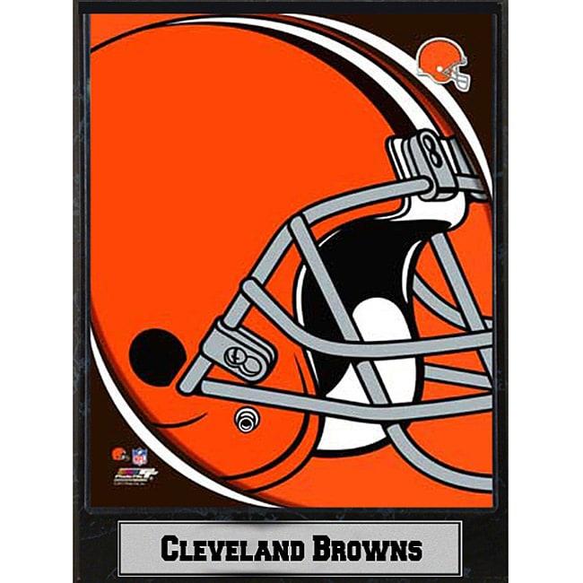 2011 Cleveland Browns Logo Plaque