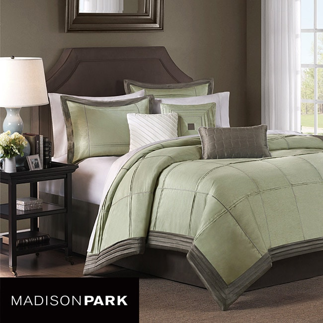 Madison Park Brookfield 6-piece King-size Duvet Cover Set
