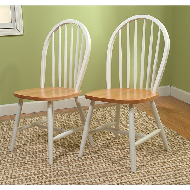 Simple Living Windsor Dining Chairs (Set of 2)