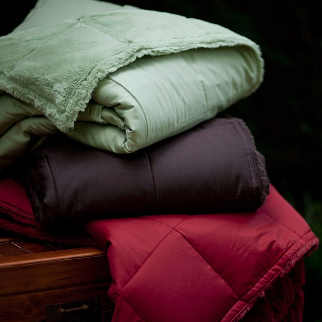Snuggle Soft Reversible Down Throw