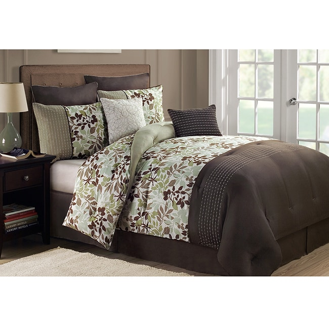 Jasmine King-size 8-piece Comforter Set