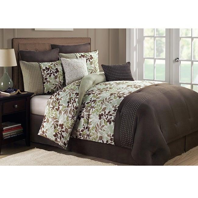 Jasmine Queen-size 8-piece Comforter Set