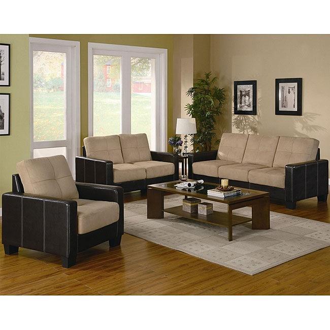 Drake 3-piece Living Room Sofa Set