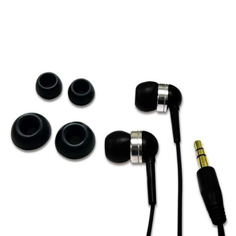 Fuji Labs 2nd Gen Black Noise Isolation Earphone