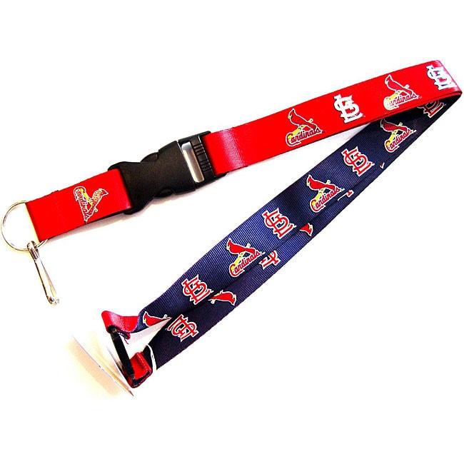 St. Louis Cardinals Reversible Clip Lanyard
