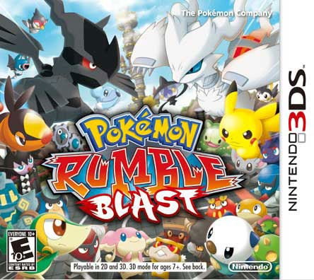 NinDS 3DS - Pokemon Rumble Blast