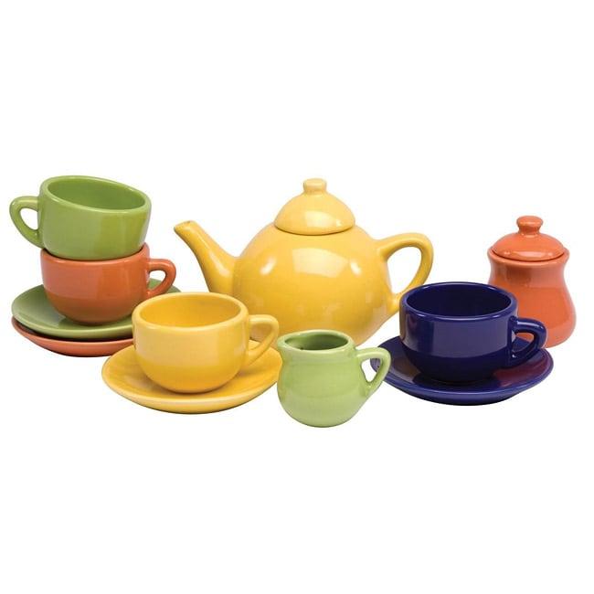Schylling Children's 13-piece Toy Tea Set