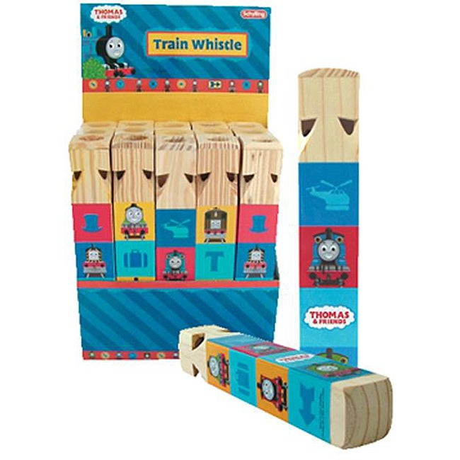 Schylling Thomas and Friends Huge Wooden Train Whistle