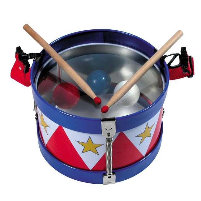 Schylling Classic Tin Drum Play Set