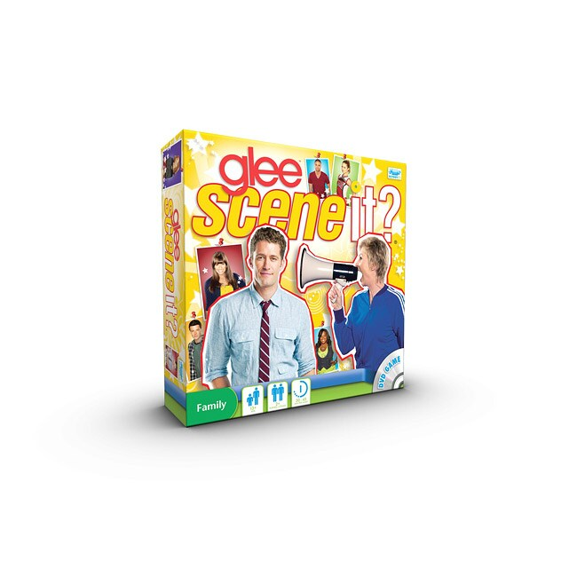 Screenlife Scene It. Glee Edition DVD Game