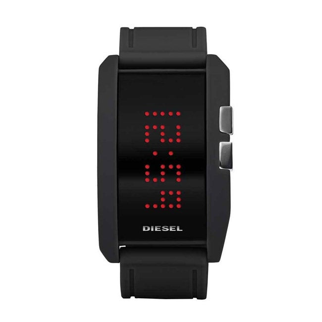 Diesel Men's Silicone Strap Digital Watch