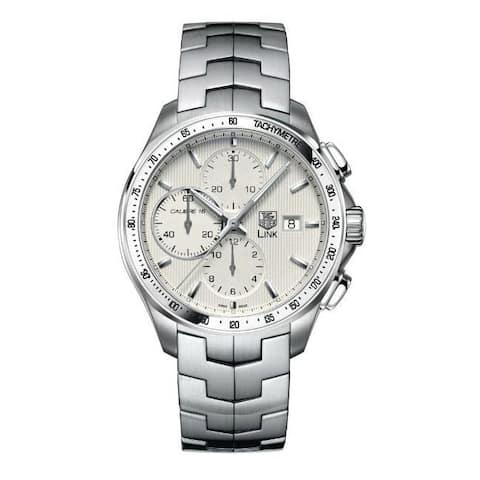 Tag Heuer Men's 'Link' Automatic Movement Chronograph Watch