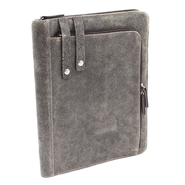 The Jones Collection Distressed Leather Executive Padfolio