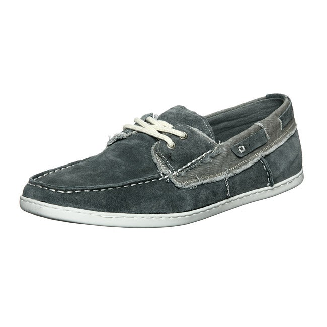 dd4e898fe04 Steve Madden Men's 'Fantail' Denim Suede Boat Shoes