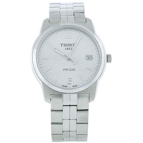 Tissot Men's T0494101103701 Silver Dial Watch