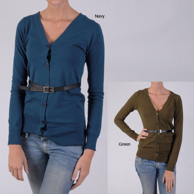 Ci Sono by Journee Junior's Belted Cardigan