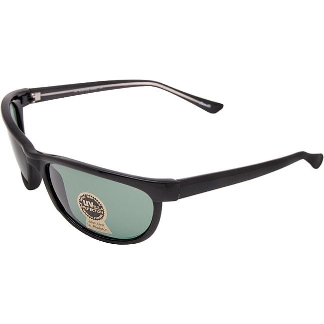 Unisex Onyx Black Fashion Sunglasses