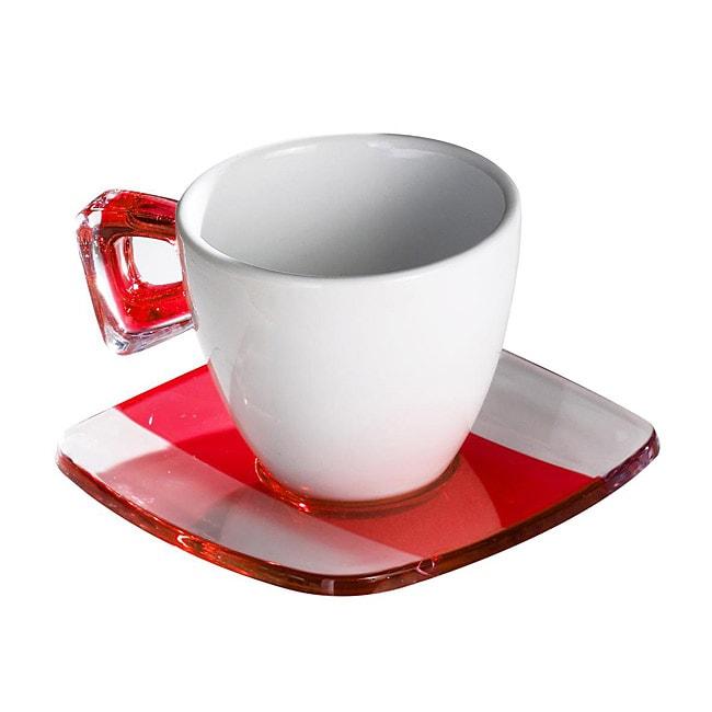 Omada Square Crystal Tea Cups (Set of 4)