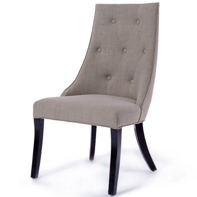 Tufted Scoop Back Chairs (Set of 2) by Christopher Knight Home