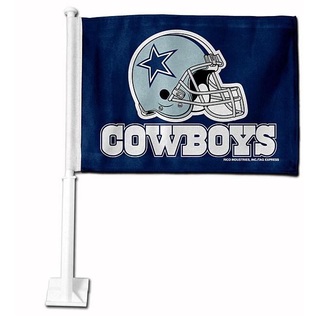 Dallas Cowboys 19-inch Car Flag