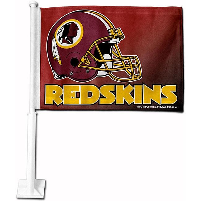 Washington Redskins 19-inch Car Flag