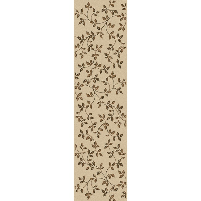 Admire Home Living Virginia Ivory Area Rug Runner (2'2 x 7'7)