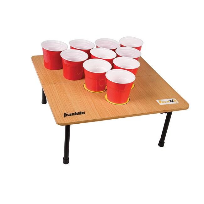 Franklin Sports Fold-N-Go 10-Cup Game