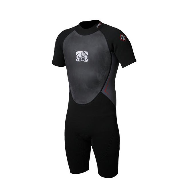 Body Glove Men's Pro 3 Black/ Charcoal Spring Wetsuit
