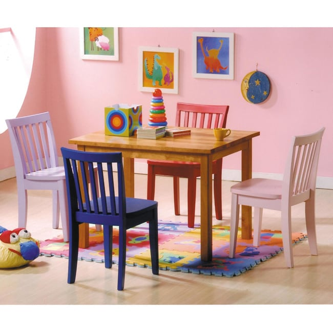Shop Pack For Kids 5 Piece Dining Set Free Shipping