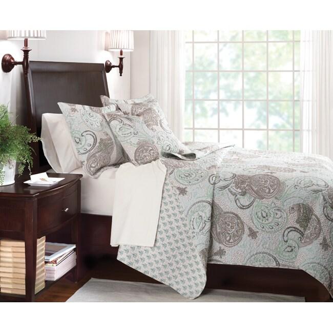 Jamison Dorset Light King-size 3-piece Quilt Set