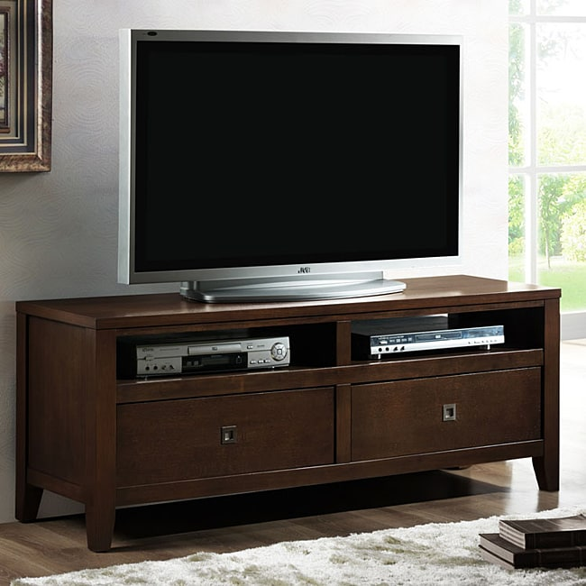 New Jersey Brown Wood Modern TV Stand