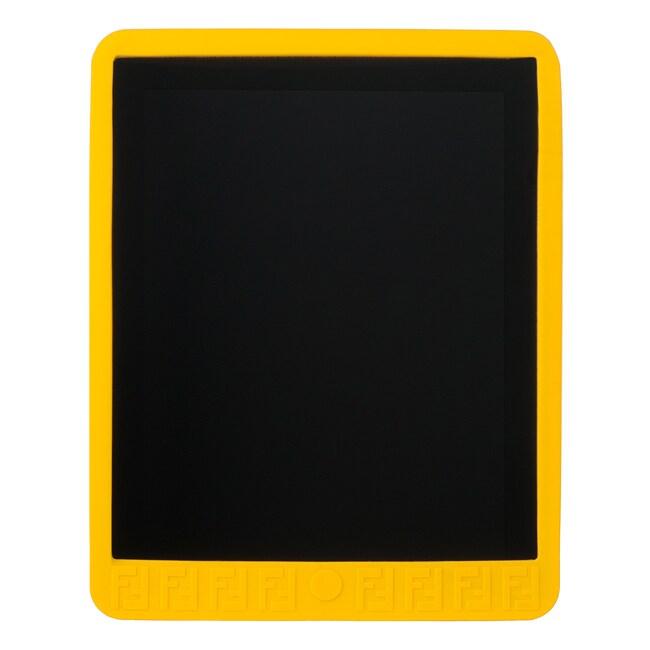 Fendi Zucchino Yellow Rubber iPad Case for Ipad 1