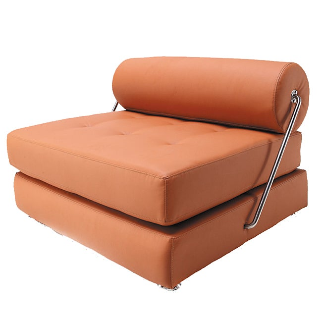 Furniture of America Boden Modern Convertible Leatherette Chair/ Daybed
