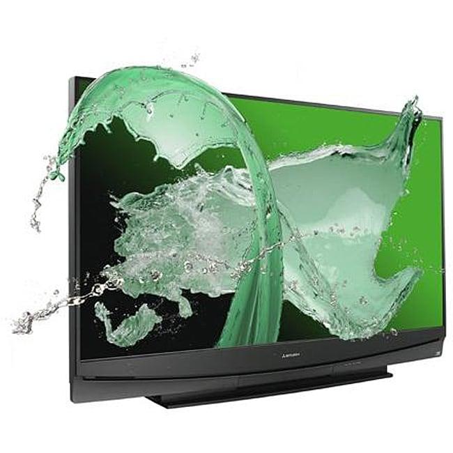 mitsubishi wd 73c10 73 inch 1080p 3d dlp tv refurbished. Black Bedroom Furniture Sets. Home Design Ideas