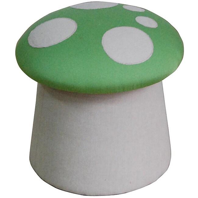 Green Mushroom Ottoman