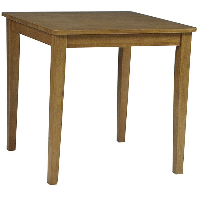 Shaker Square 30-inch Oak Dining Table