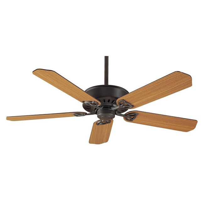 Paramount XP 54-inch Panama Traditional Teak/ Cherried 5-blade Ceiling Fan