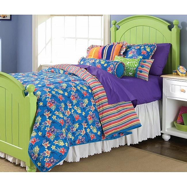 Hawaiian Twin-size Comforter Set