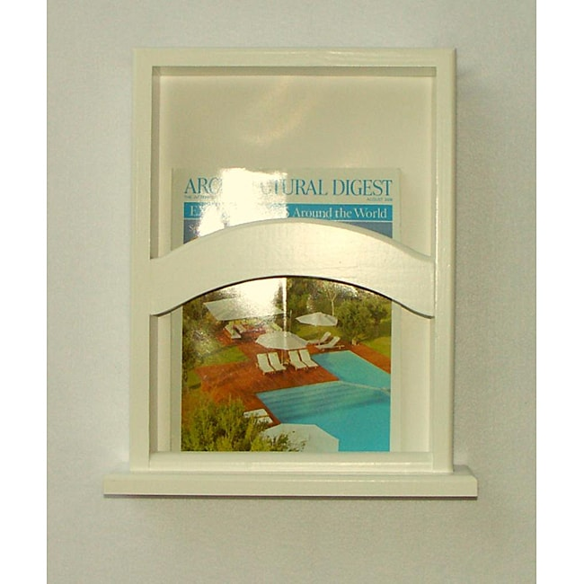 On-the-wall Magazine Rack with Base