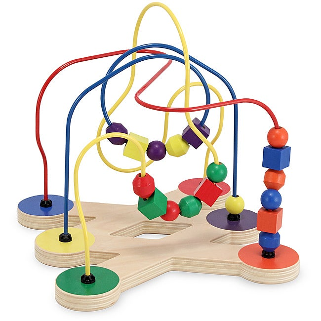 Melissa & Doug Classic Toy Bead Maze Play Set