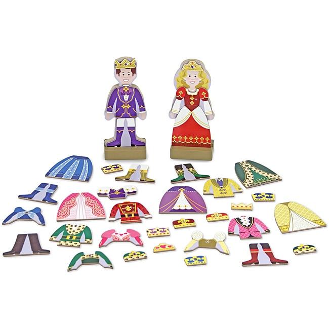 Melissa & Doug Prince and Princess Dress-up Play Set