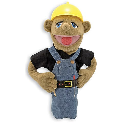 Melissa & Doug Construction Worker Puppet Toy