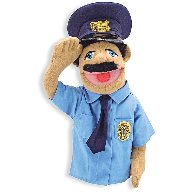 Melissa & Doug Police Officer Puppet Toy