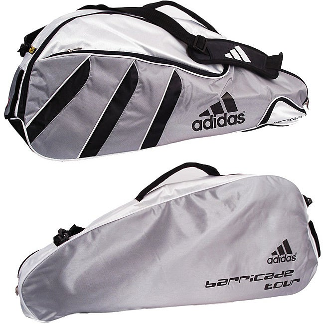 f8dc00a2e9e5 Shop Adidas Barricade Tour 3-pack Tennis Bag - Free Shipping On Orders Over   45 - Overstock - 6218719