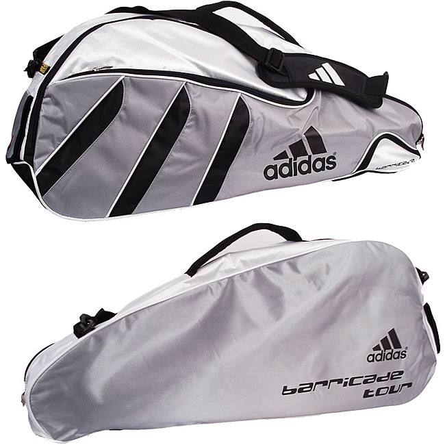 929e4b186c9a Shop Adidas Barricade Tour 3-pack Tennis Bag - Free Shipping On Orders Over   45 - Overstock - 6218719