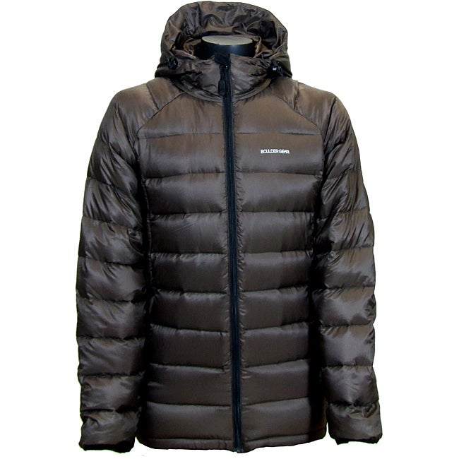 Boulder Gear Men's Brown Basecamp Down Jacket
